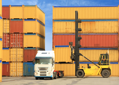 transport Marchandises par container