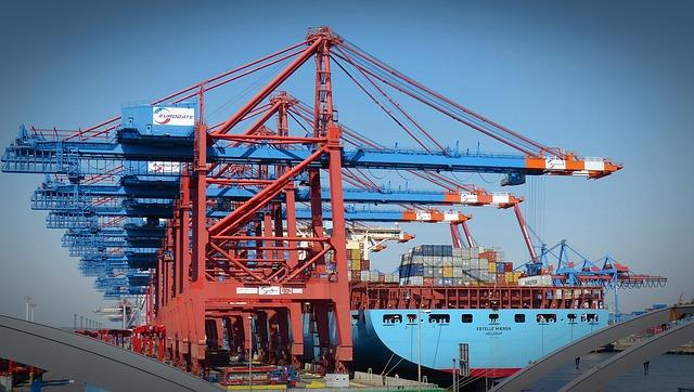 ports export import etats unis