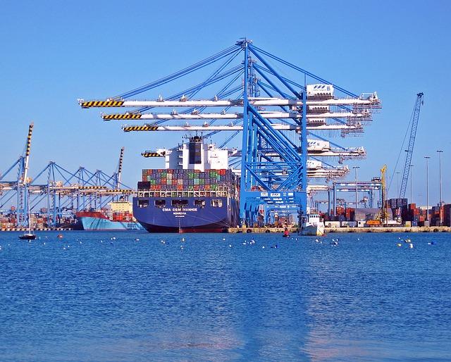 transport de marchandises par voie maritime