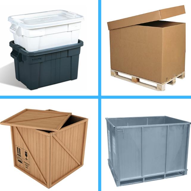 Envoi marchandises par caisse