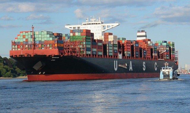 envoi container conteneur bateau